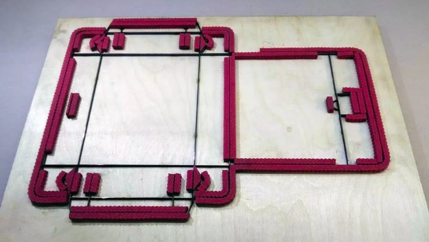 Штанц-форма для пластиковой коробки