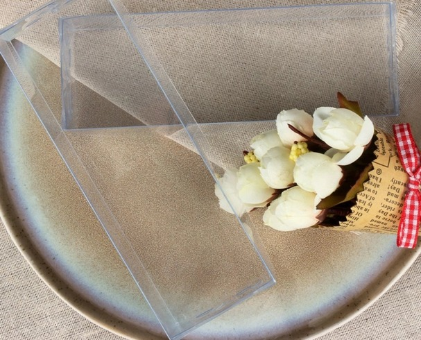 Прозрачная упаковка с клееным швом