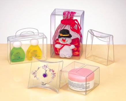 Коробки пластиковые от «Делюкс пак»